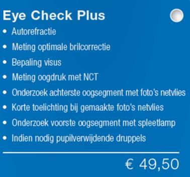 Eye check plus